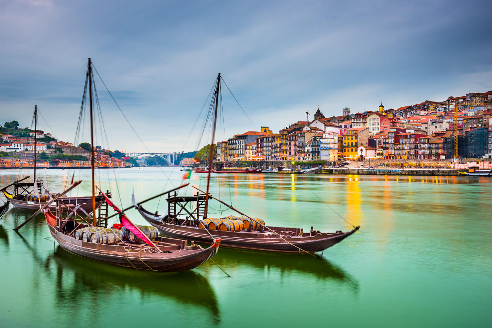 Rabelo boat trips on the Douro River